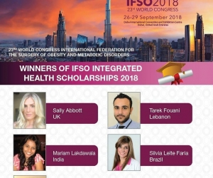 Mariam Lakdawala was the winner for the First IFSO Integrated Health Scholarship 2018 from the entire Asia Pacific Region